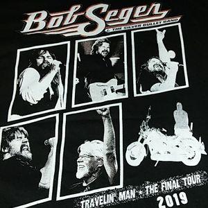 Nwot Bob Seger tshirt